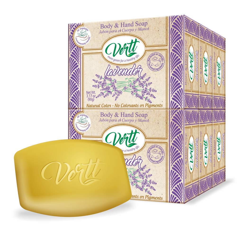 Vertt Natural Soap Bar Lavender